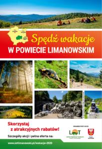"""Kampania """"Spędź wakacje w powiecie limanowskim"""""""