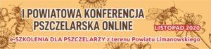 I Powiatowa Konferencja Pszczelarska Online – znane terminy szkoleń!