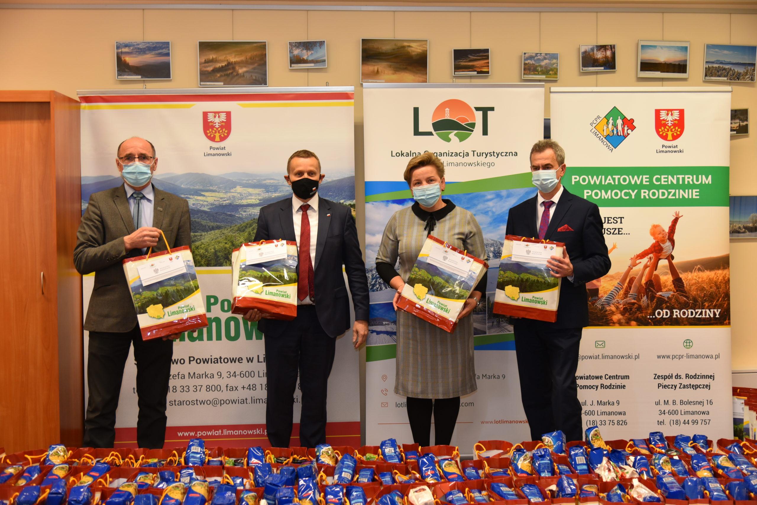 Zainaugurowaliśmy projekt skierowany dla osób niepełnosprawnych i potrzebujących. Wizyta Wicewojewody Małopolskiego.