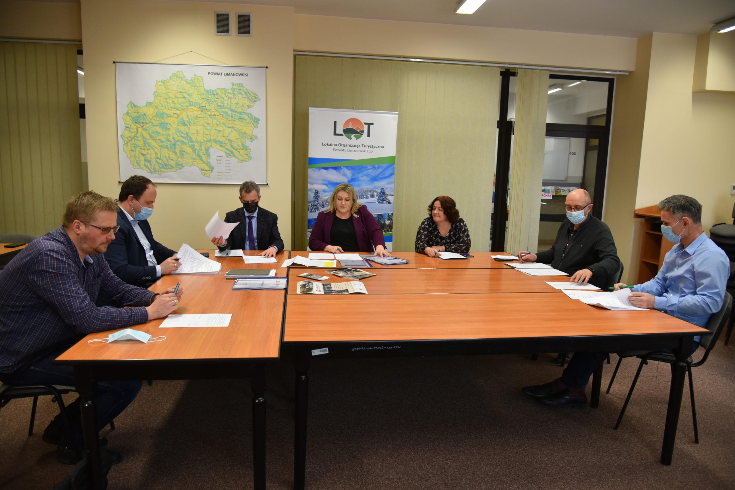 III Walne Zebranie Członków Lokalnej Organizacji Turystycznej Powiatu Limanowskiego